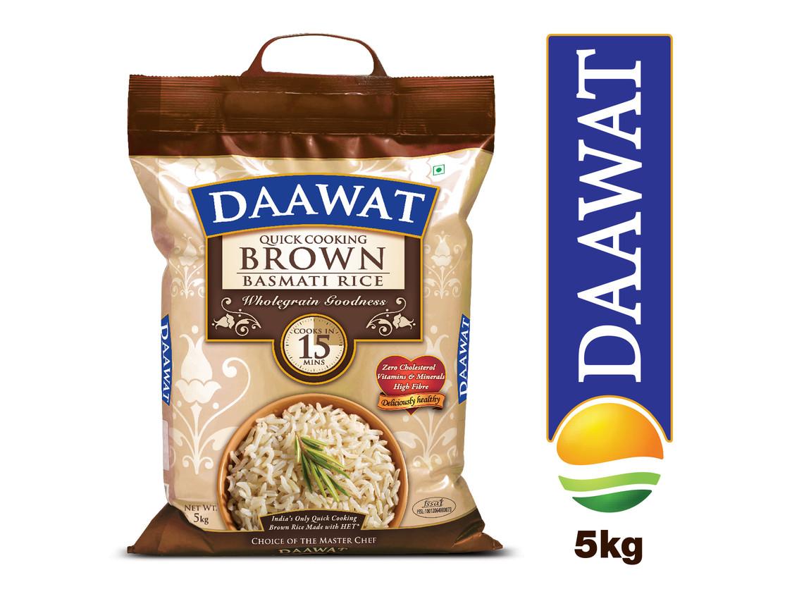Quick Cook Brown Rice  OctoRocket