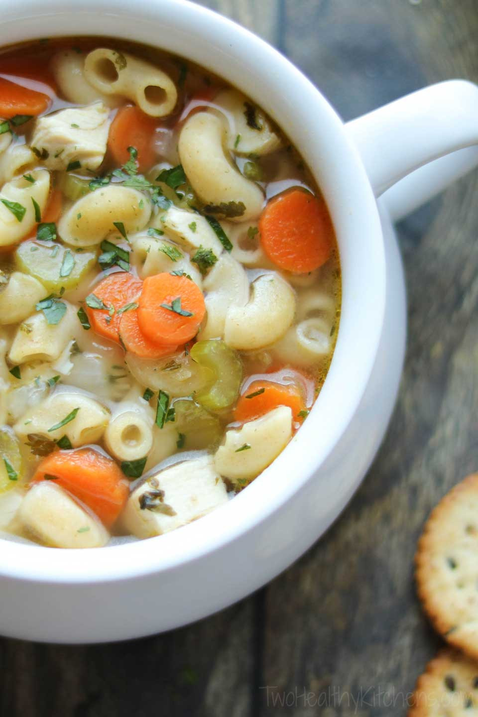 Quick Homemade Chicken Noodle Soup  Quick & Easy Chicken Noodle Soup with Rotisserie Chicken