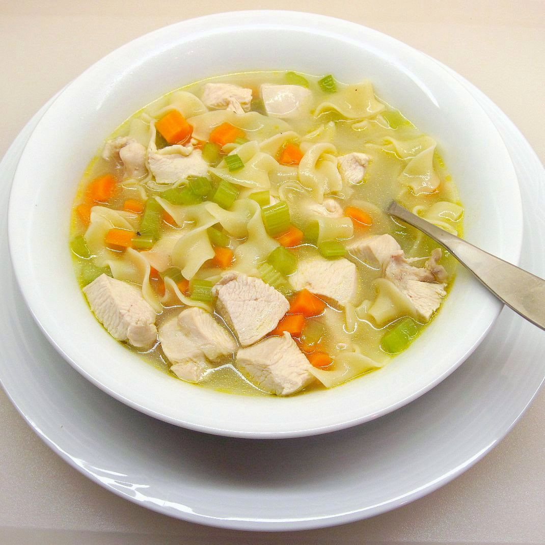 Quick Homemade Chicken Noodle Soup  Quick and Easy Chicken Noodle Soup