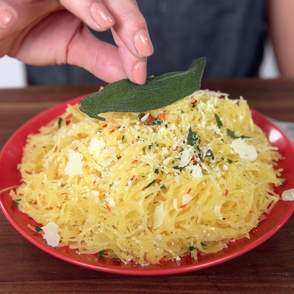 Quick Spaghetti Squash  Easy Spaghetti Squash Recipes