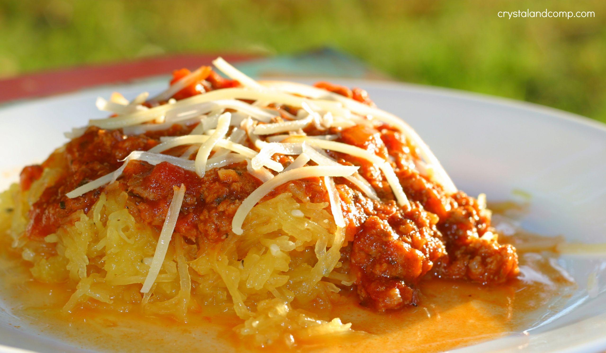 Quick Spaghetti Squash  Easy Spaghetti Recipe