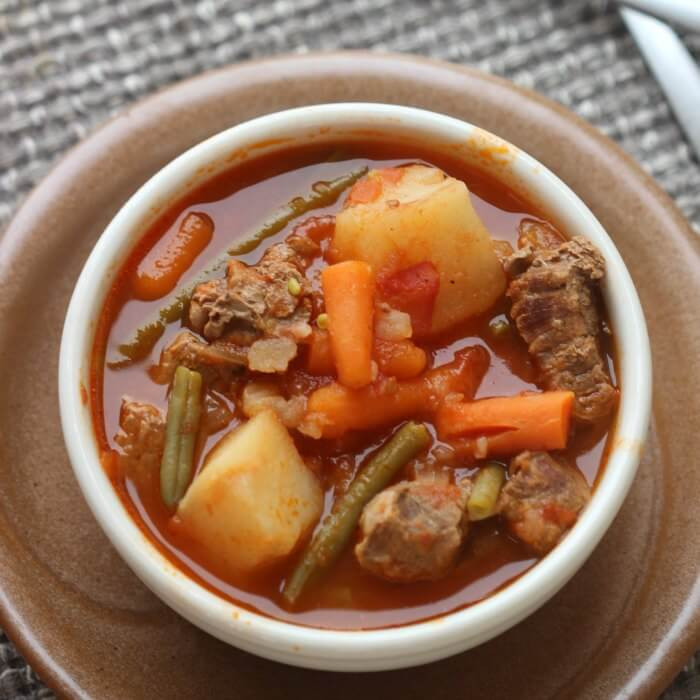 Quick Stew Meat Recipe  Quick & Easy Crock pot Beef Stew Recipe Eating on a Dime