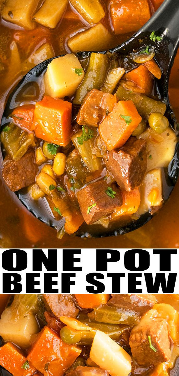 Quick Stew Meat Recipe  BEEF STEW RECIPE Quick easy best old fashioned