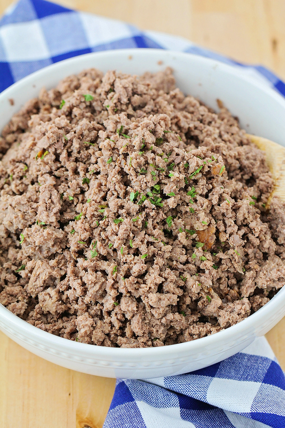 Quickly Thawing Ground Beef  The Baker Upstairs How to Cook Frozen Ground Beef in the