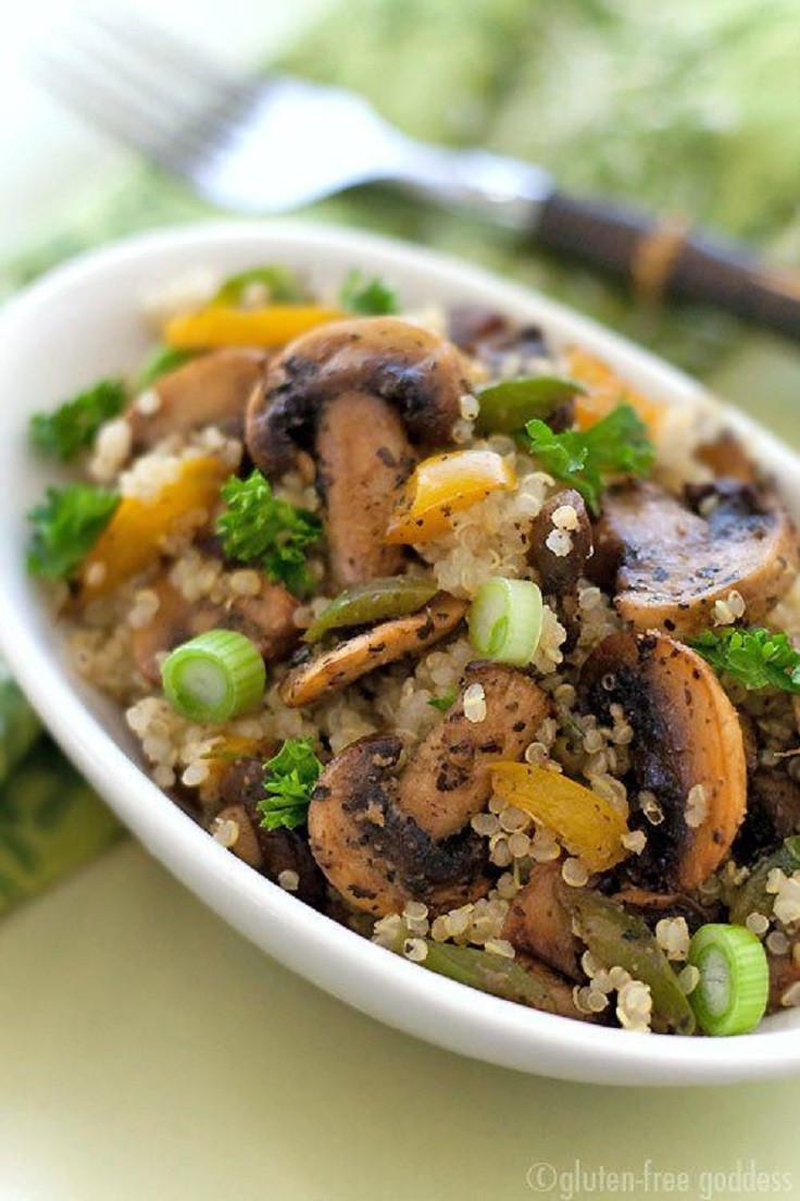 Quinoa Mushroom Recipe  Top 10 Best Quinoa Recipes Top Inspired