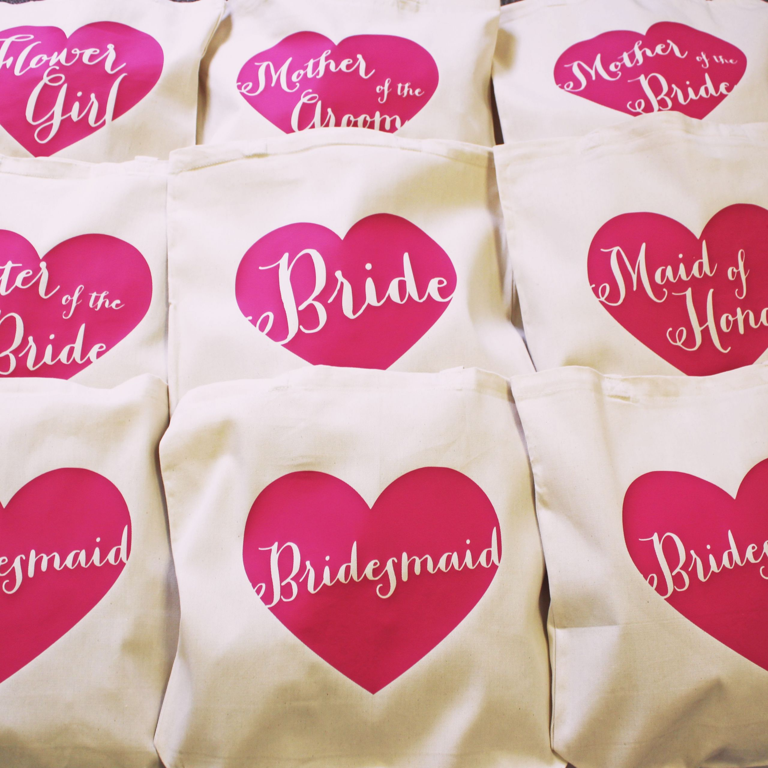 Rainy Day Bachelorette Party Ideas  Personalized totes for your whole wedding party