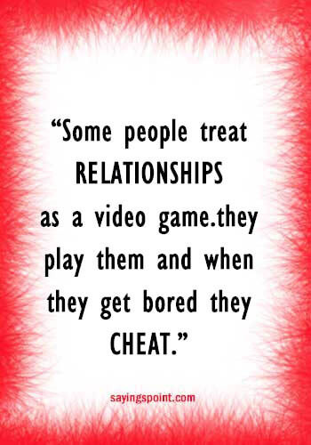 Relationship Cheating Quotes  65 Cheating Quotes and Sayings Sayings Point