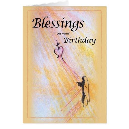 Religious Birthday Cards  Birthday Blessings Religious Card