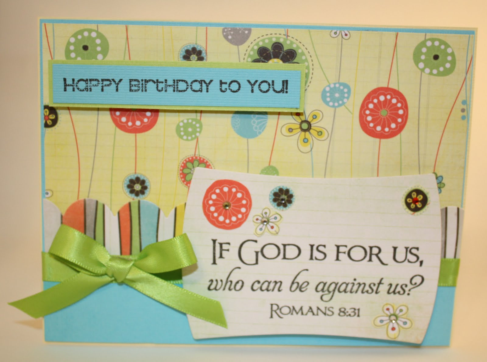 Religious Birthday Cards  Delightful Details Christian Paper Crafts Birthday Blog Hop