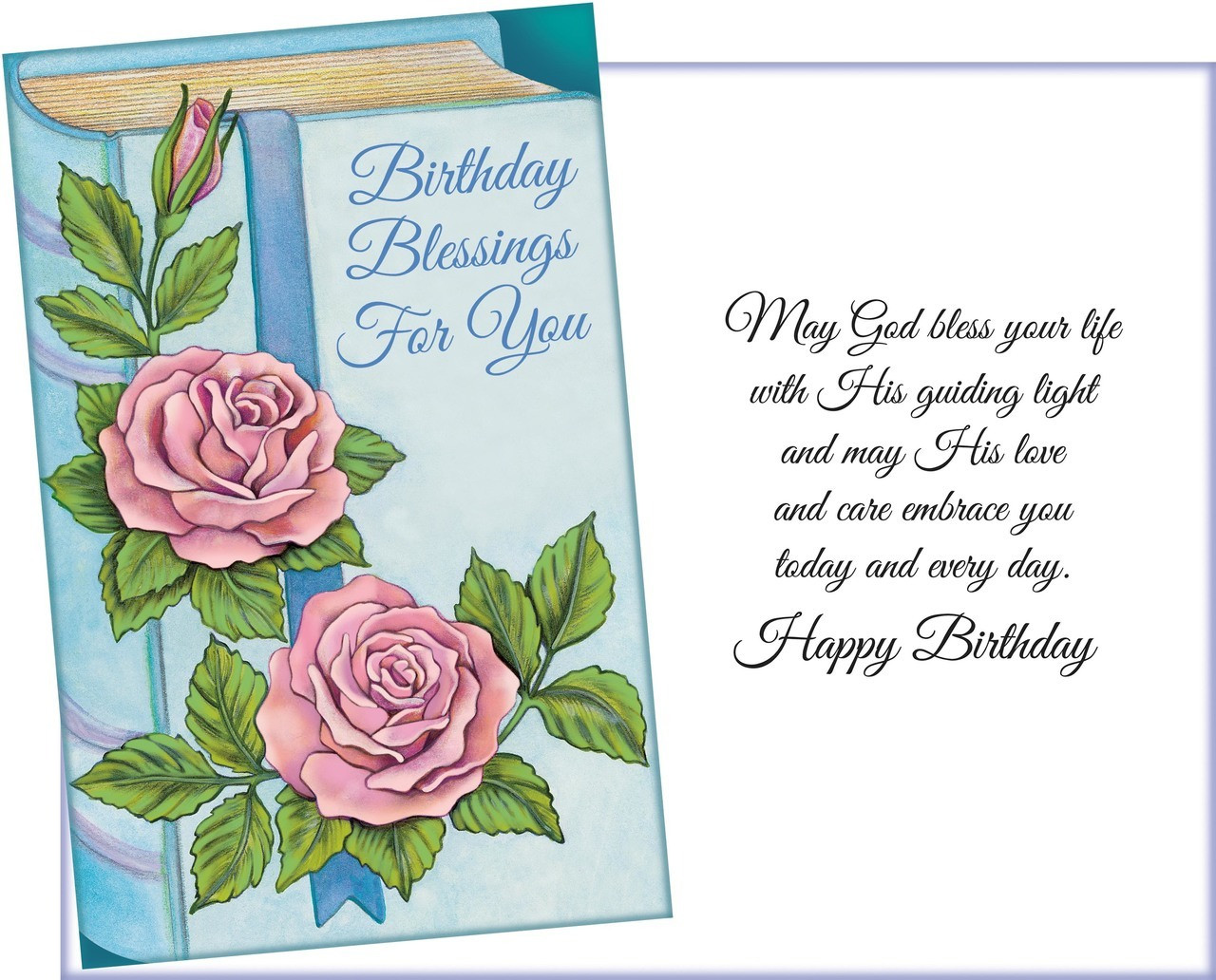 Religious Birthday Cards  six religious birthday greeting cards with six
