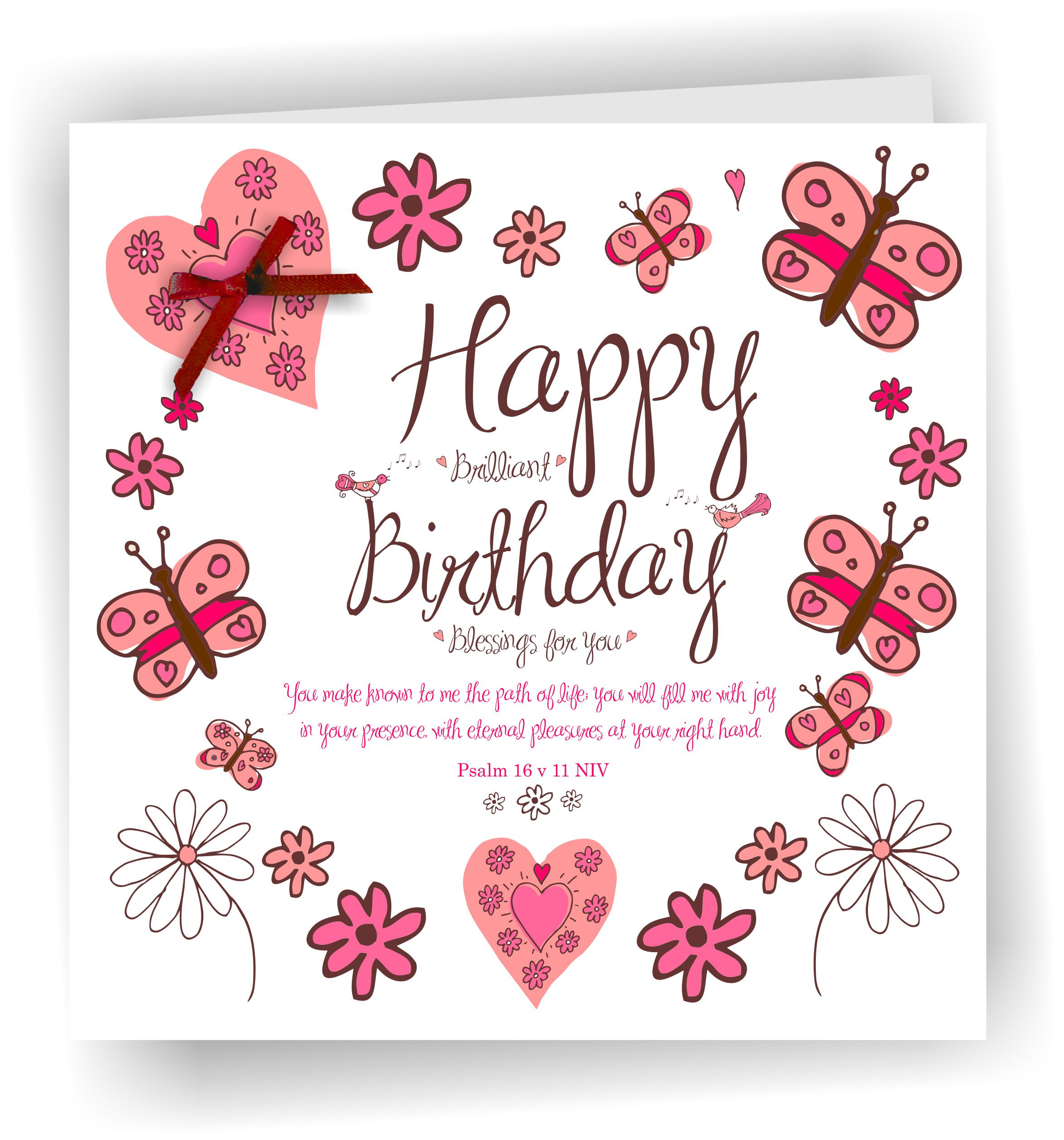 Religious Birthday Cards  Card Happy Birthday Blessings – Blog & line Shop