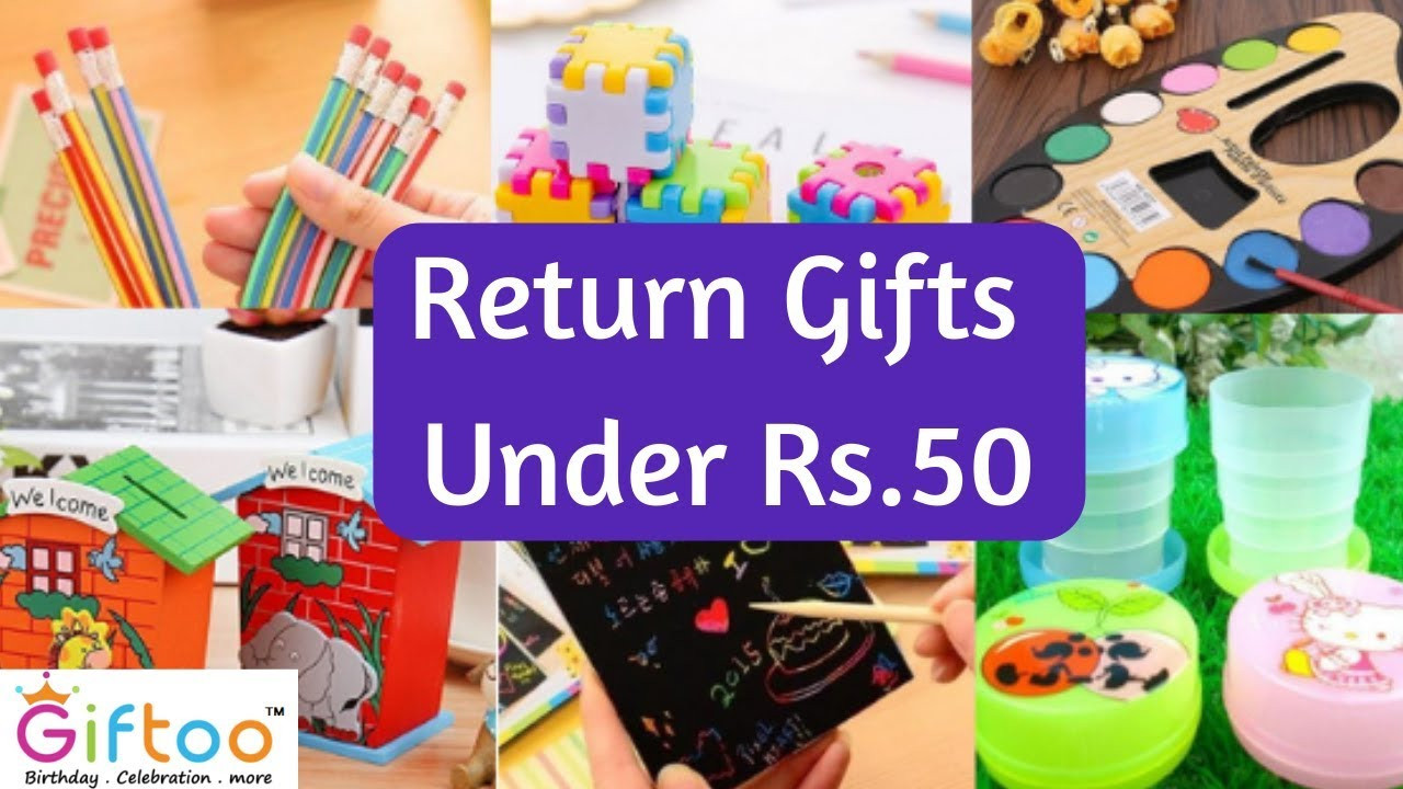 Return Gift Ideas For Kids Birthday Party  Return Gifts Ideas🔥🔥🔥 Under Rs 50 🤩 for Kids birthday