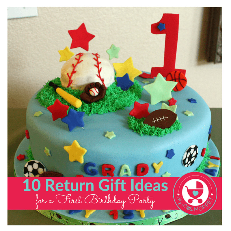 Return Gift Ideas For Kids Birthday Party  10 Novel Return Gift Ideas for a First Birthday Party