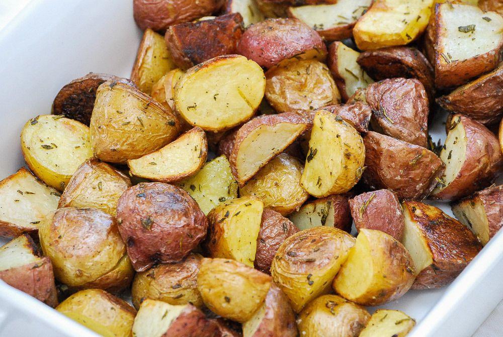 Roasted Baby Dutch Potatoes  Herb Roasted Potatoes Recipe