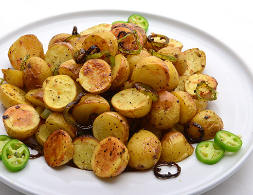 Roasted Baby Dutch Potatoes  Spicy Roasted baby Dutch Yellow tm Potatoes