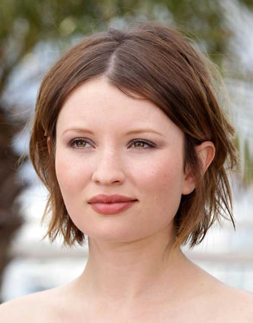 Round Face Short Haircuts  Short Hairstyles For Round Faces Women s Fave HairStyles