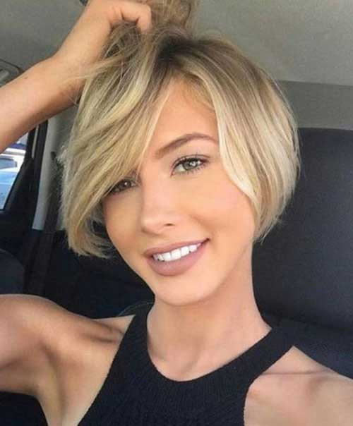 Round Face Short Haircuts  Short Haircuts for Round Face Shape