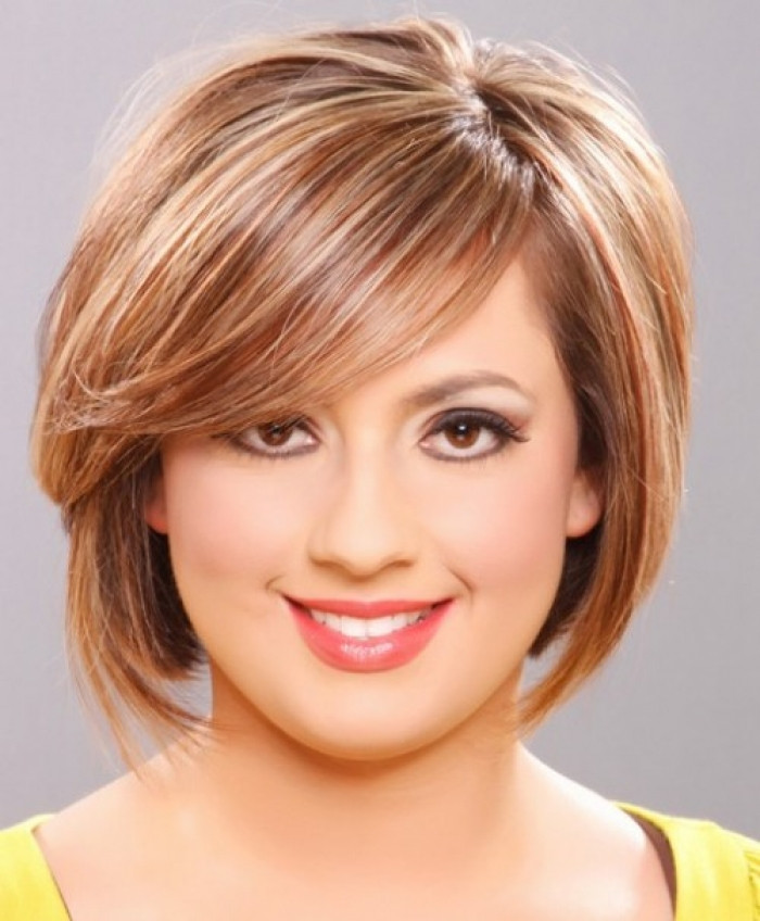 Round Face Short Haircuts  PROM HAIRSTYLES Short hairstyles for round faces