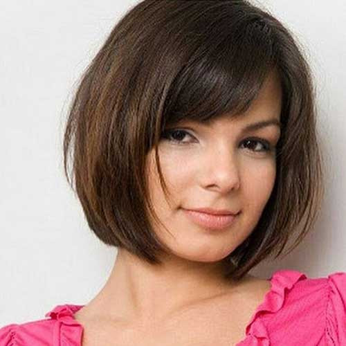 Round Face Short Haircuts  Short Hair Ideas for Round Face