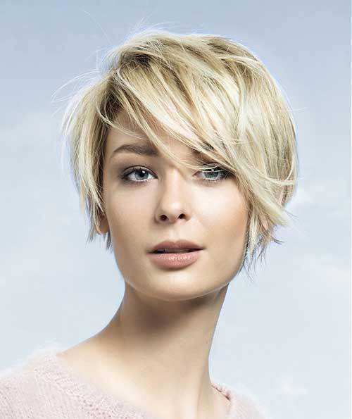 Round Face Short Haircuts  Beloved Short Haircuts for Women with Round Faces