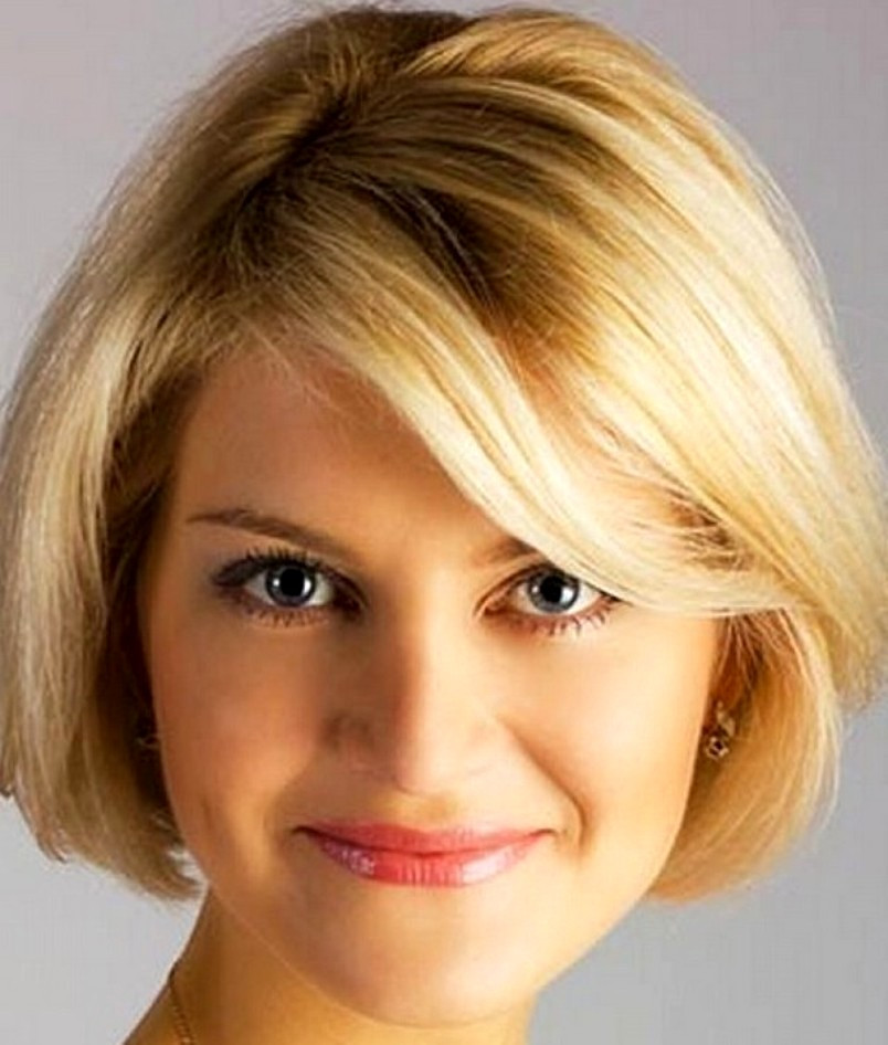 Round Face Short Haircuts  14 Best Short Haircuts 2020 for Women with Round Faces
