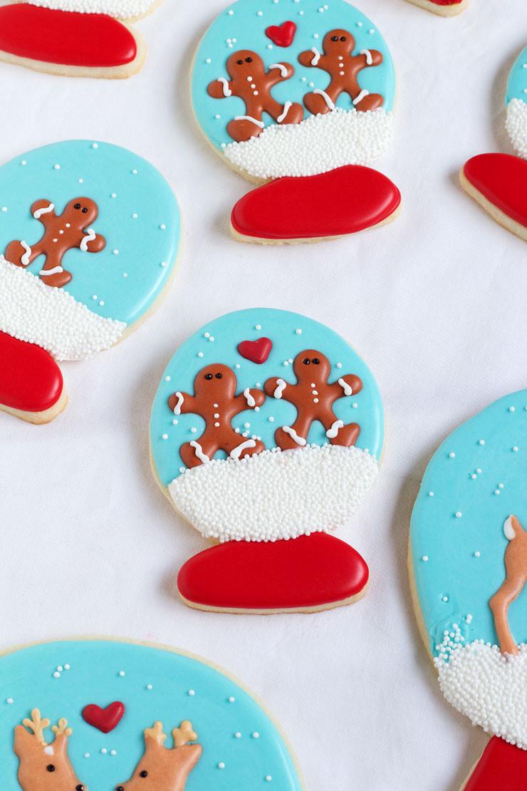 Royal Icing Christmas Cookie  Easy Christmas Royal Icing Transfers