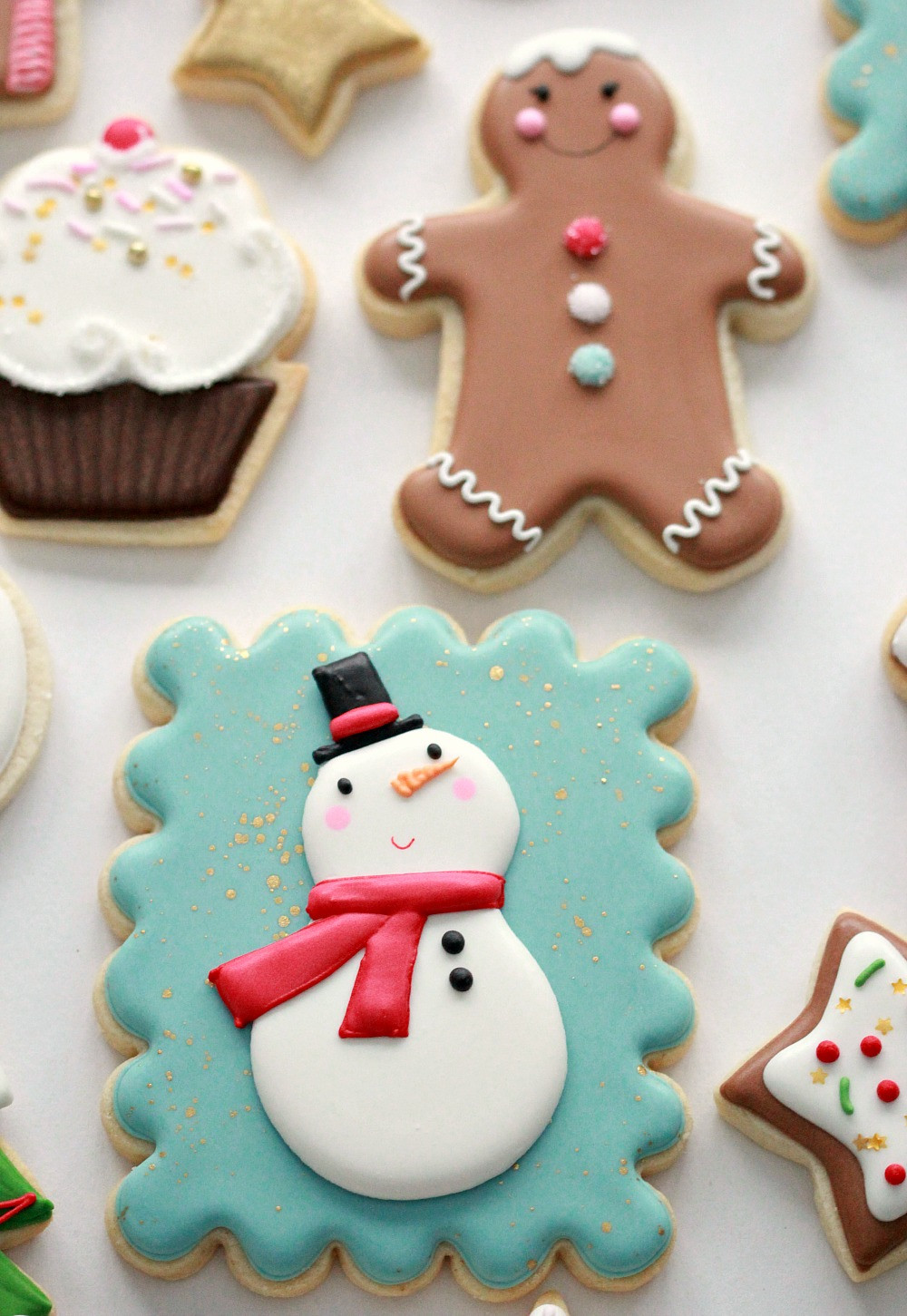 Royal Icing Christmas Cookie  Royal Icing Cookie Decorating Tips