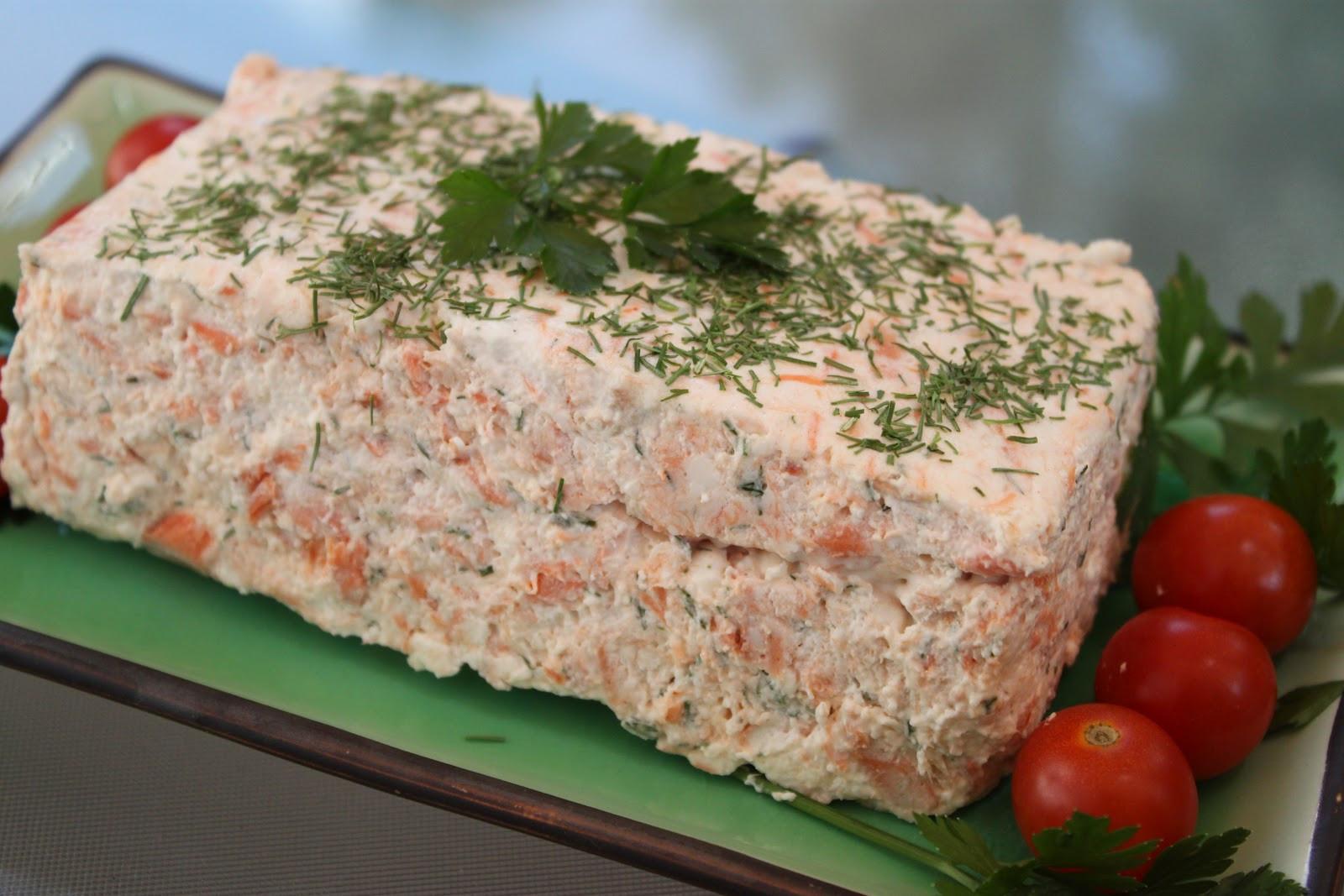 Salmon Mousse Mold  Lindaraxa Salmon Mousse