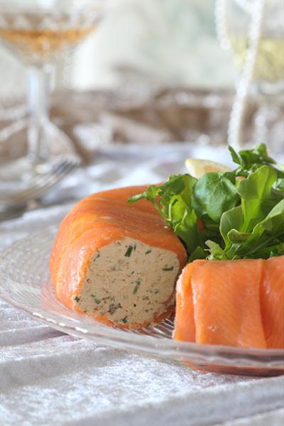 Salmon Mousse Mold  salmon mousse