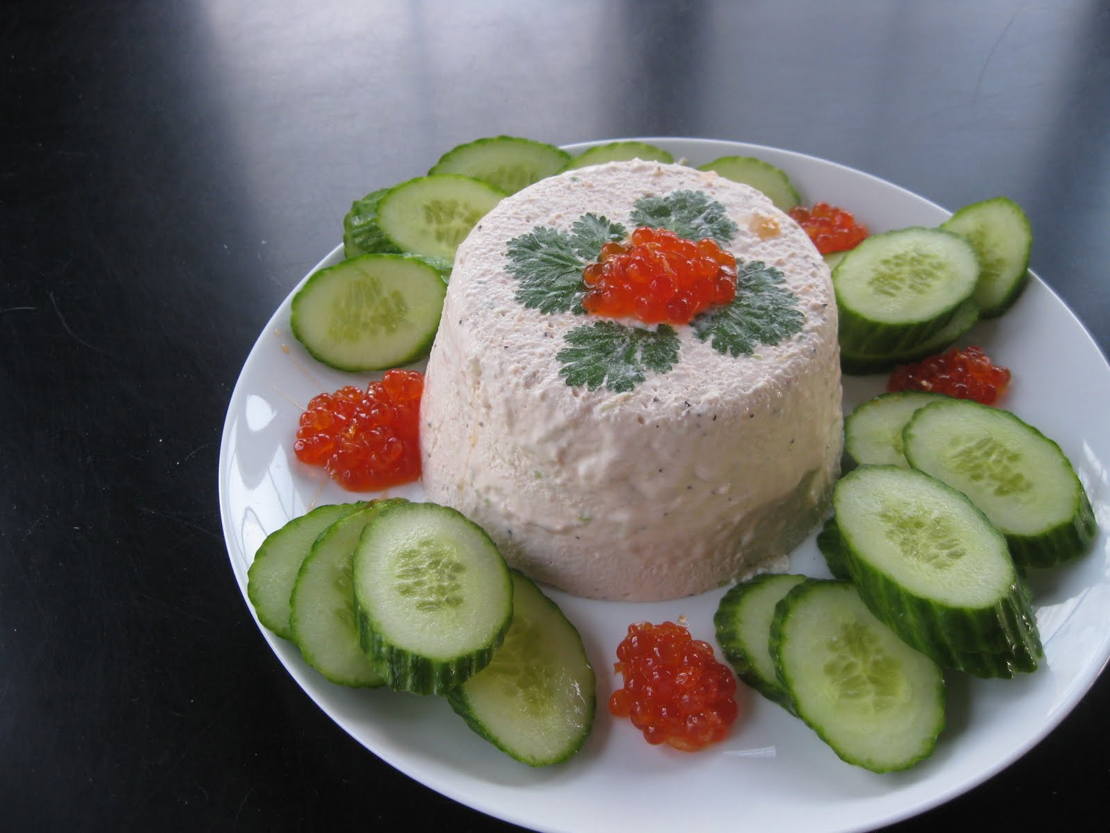Salmon Mousse Mold  The Gourmet Project Smoked Salmon Mousse with Salmon Roe