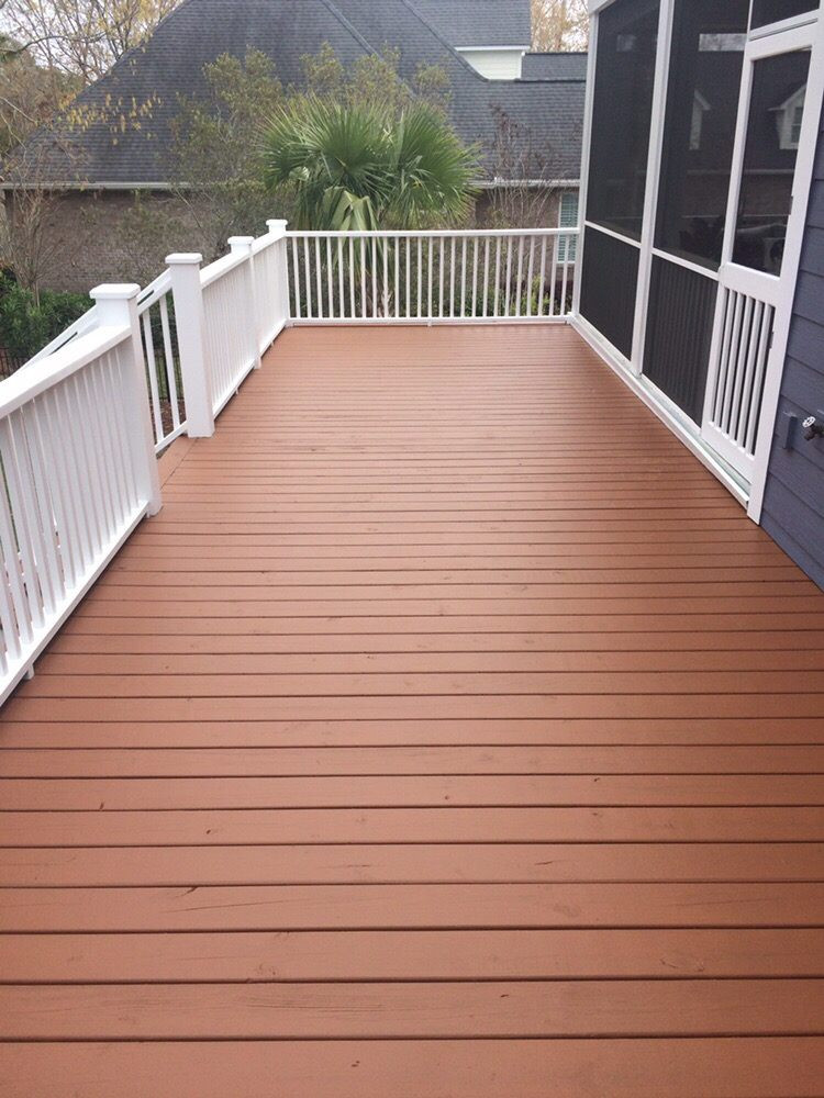 Sherwin Williams Deck Paint Reviews  Deck Stained using Sherwin Williams SuperDeck Semi Solid