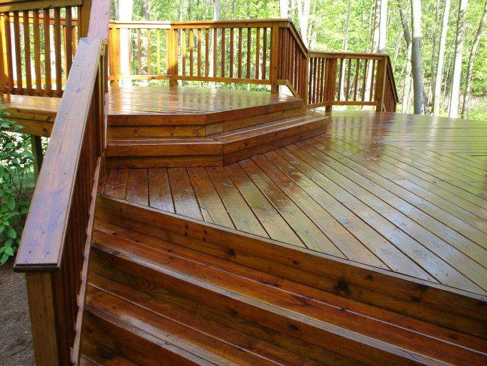Sherwin Williams Deck Paint Reviews  Decking Elegant Sherwin Williams Superdeck Applied To