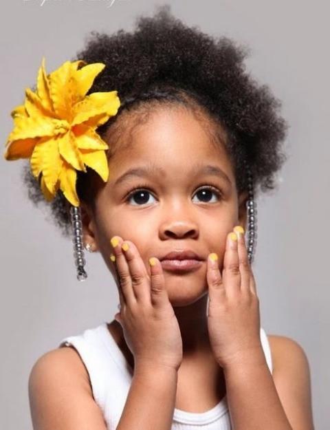 Short Hairstyles For Black Little Girls  Holiday Hairstyles for Little Black Girls