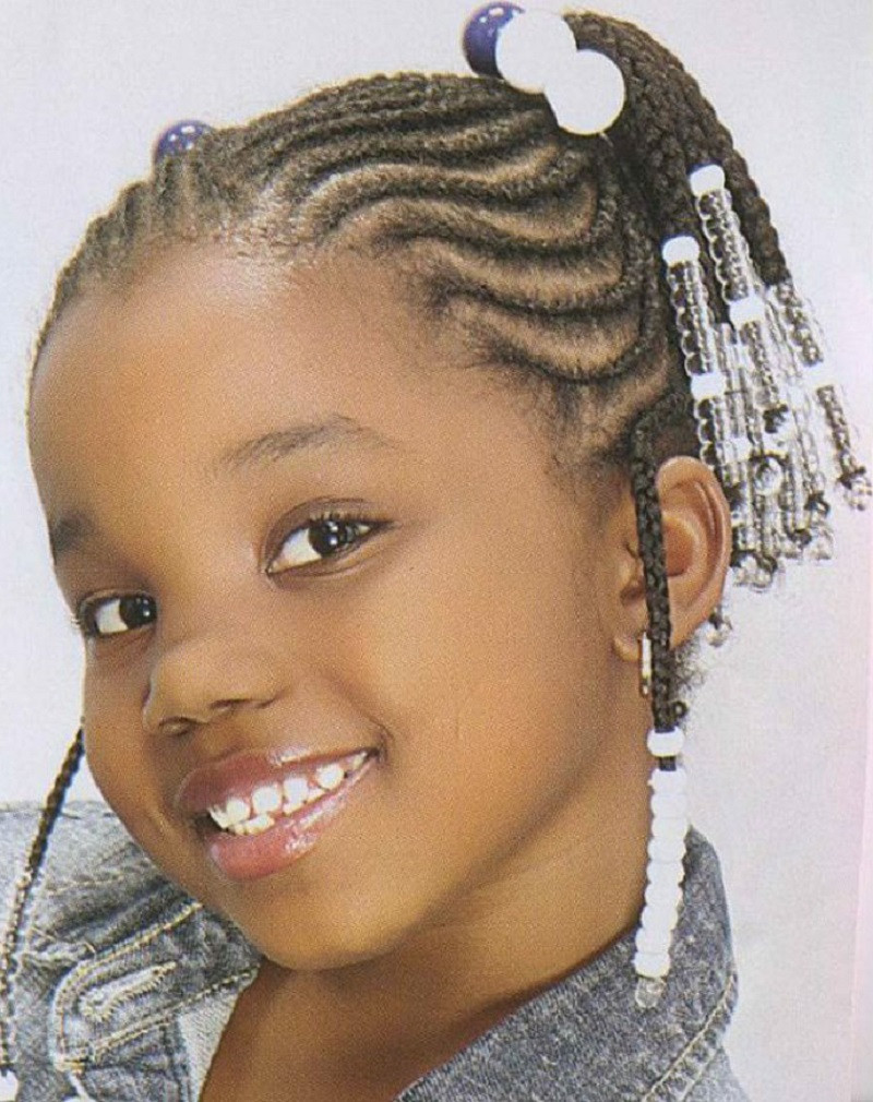 Short Hairstyles For Black Little Girls  64 Cool Braided Hairstyles for Little Black Girls – HAIRSTYLES