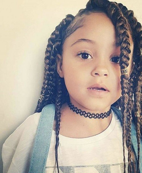 Short Hairstyles For Black Little Girls  40 Cute Hairstyles for Black Little Girls