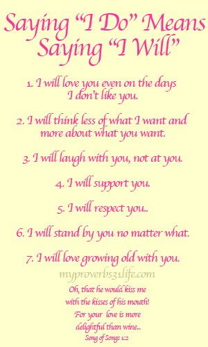 Short Simple Wedding Vows  Romantic Wedding Vows Examples For Her and For Him