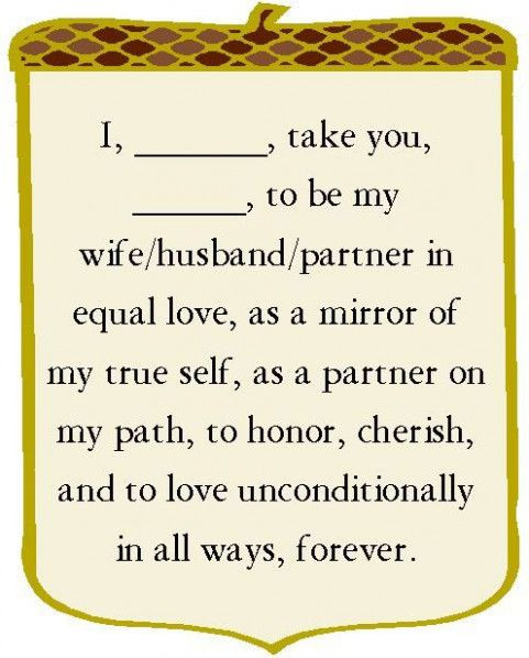 Short Simple Wedding Vows  Simple Wedding Vows Short