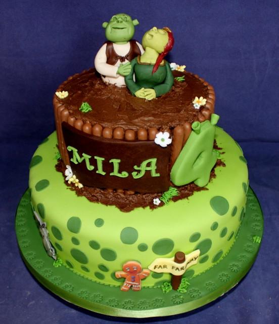 Shrek Birthday Cake  Gardners Cakery Birthday Cakes Its all about cake