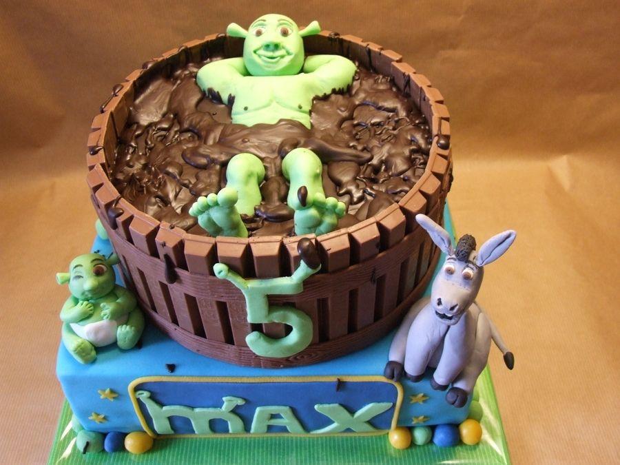 Shrek Birthday Cake  Shrek on Cake Central