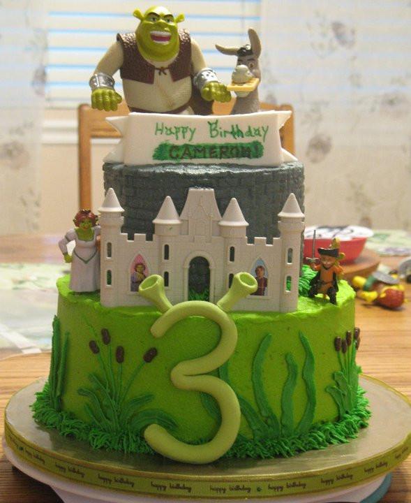 Shrek Birthday Cake  J s Cakes Shrek Cake