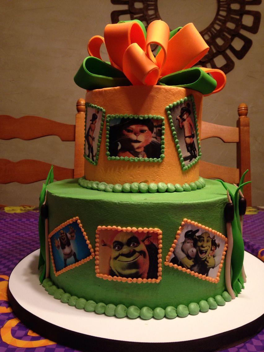 Shrek Birthday Cake  Girls Shrek birthday cake