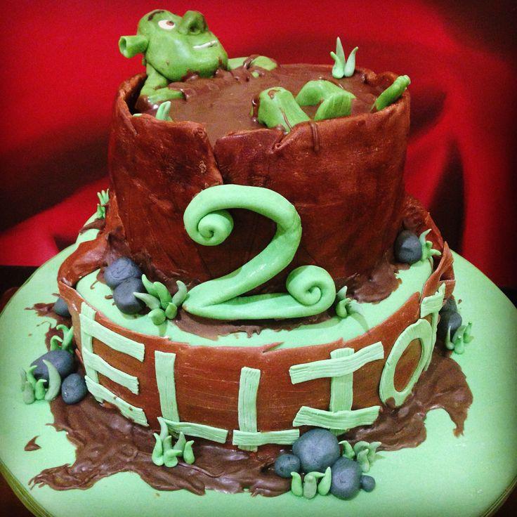 Shrek Birthday Cake  17 Best images about Shrek Cakes on Pinterest