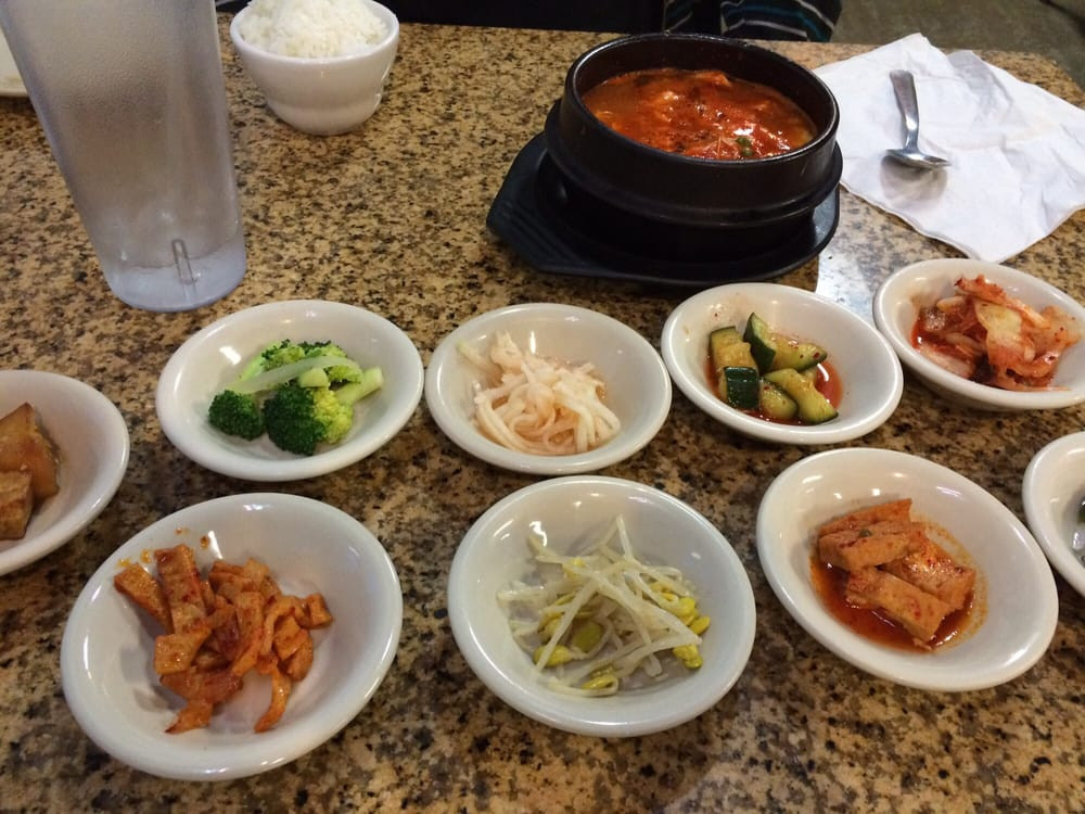 Side Dishes For Seafood  Side dishes and seafood tofu soup Yelp