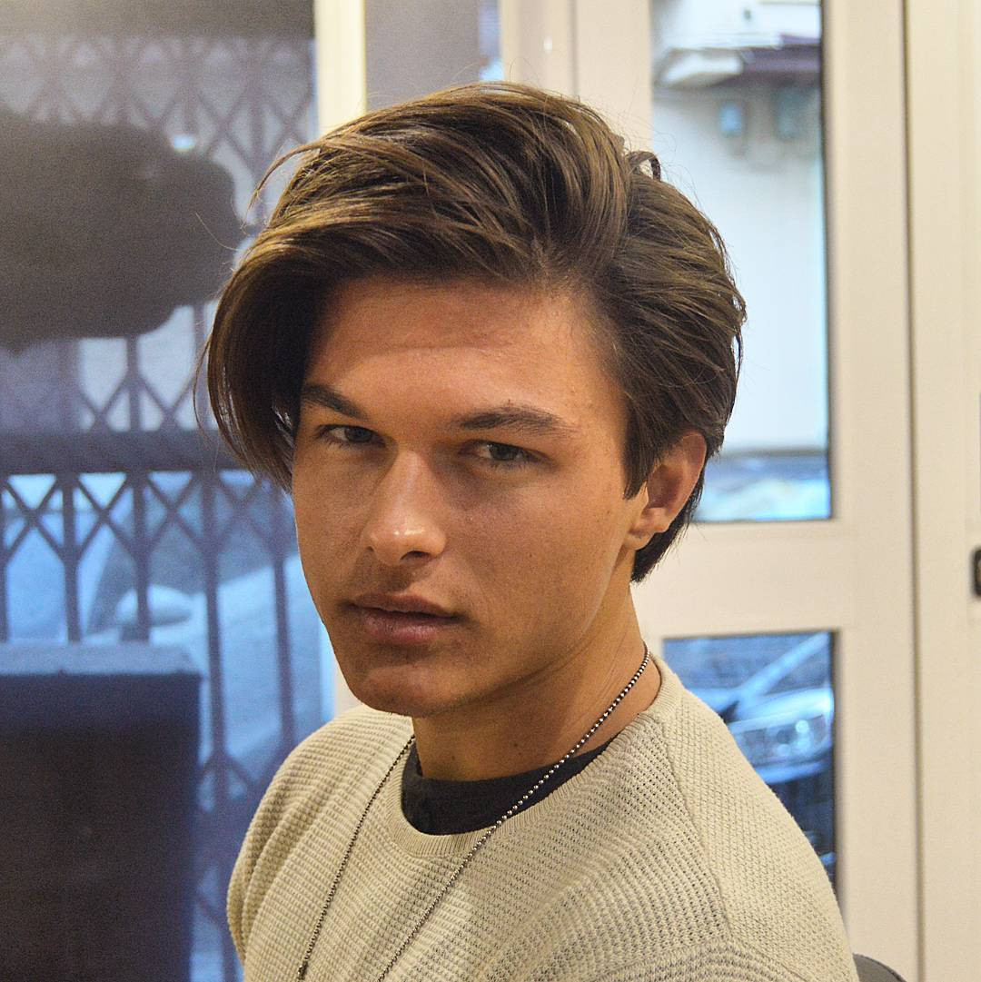 Side Part Hairstyles For Medium Length Hair  19 Best Medium Length Men s Hairstyles