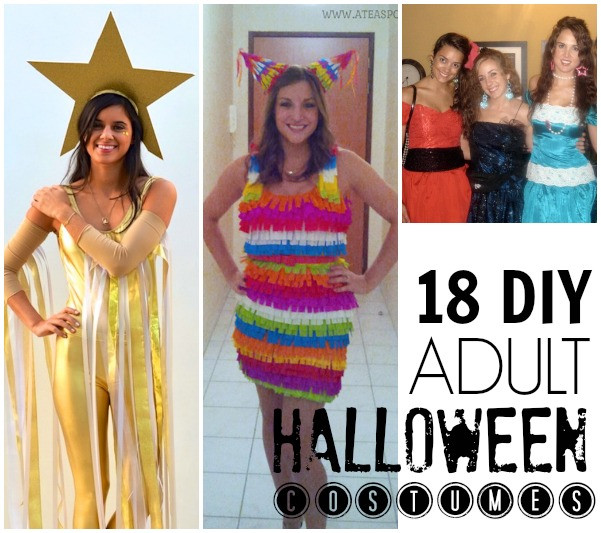 Simple DIY Halloween Costumes For Adults  19 easy DIY adult costumes C R A F T