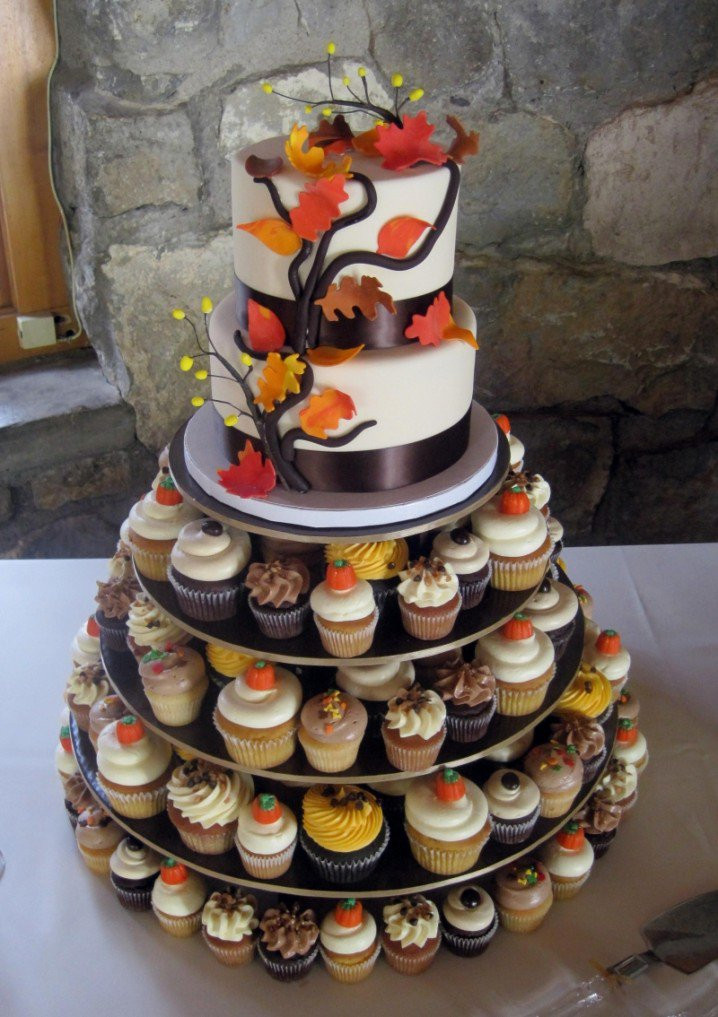 Simple Fall Wedding Cakes  15 Fall Wedding Cake Ideas You May Love Pretty Designs