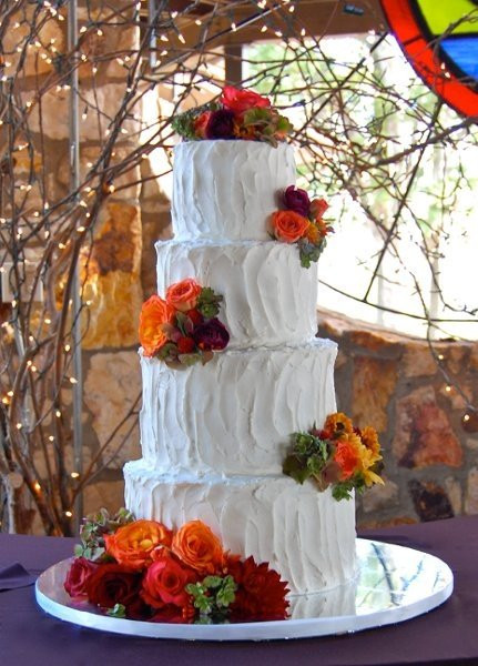 Simple Fall Wedding Cakes  Simple Wedding Cakes