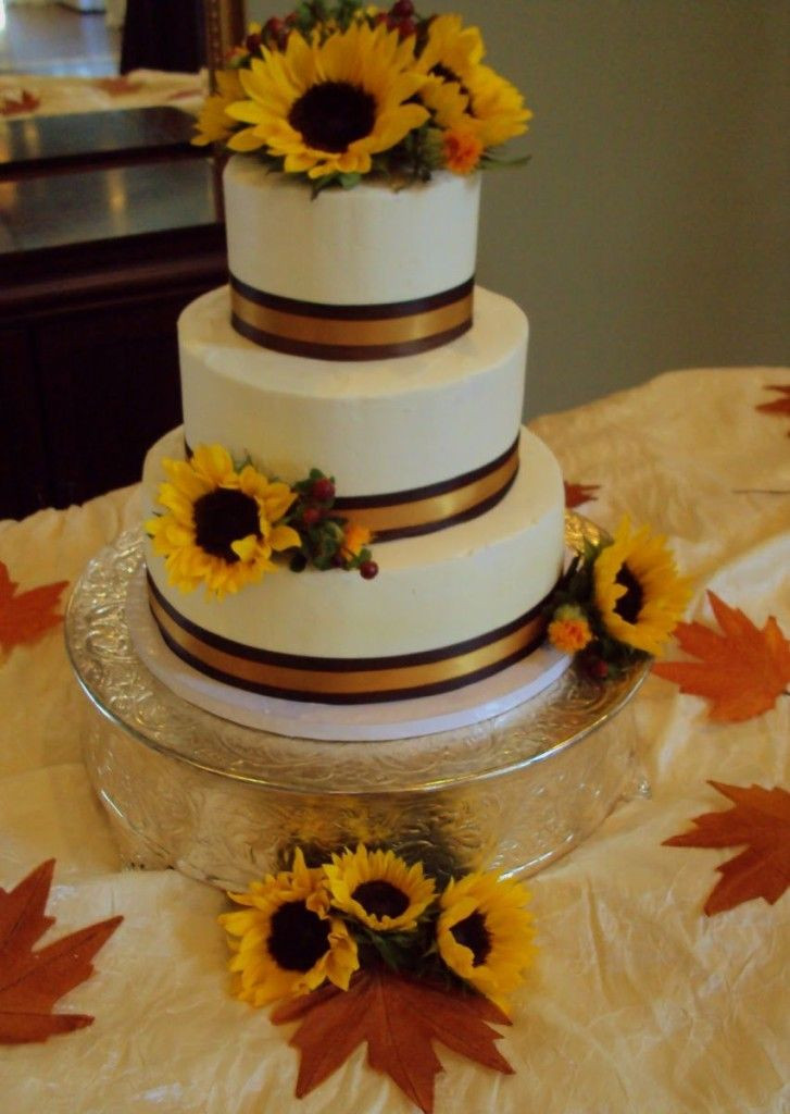 Simple Fall Wedding Cakes  16 best fall wedding cakes images on Pinterest