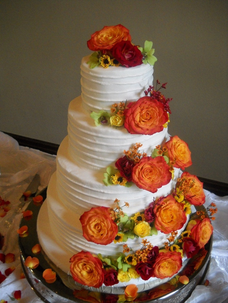 Simple Fall Wedding Cakes  Rustic Wedding Cakes Ideas