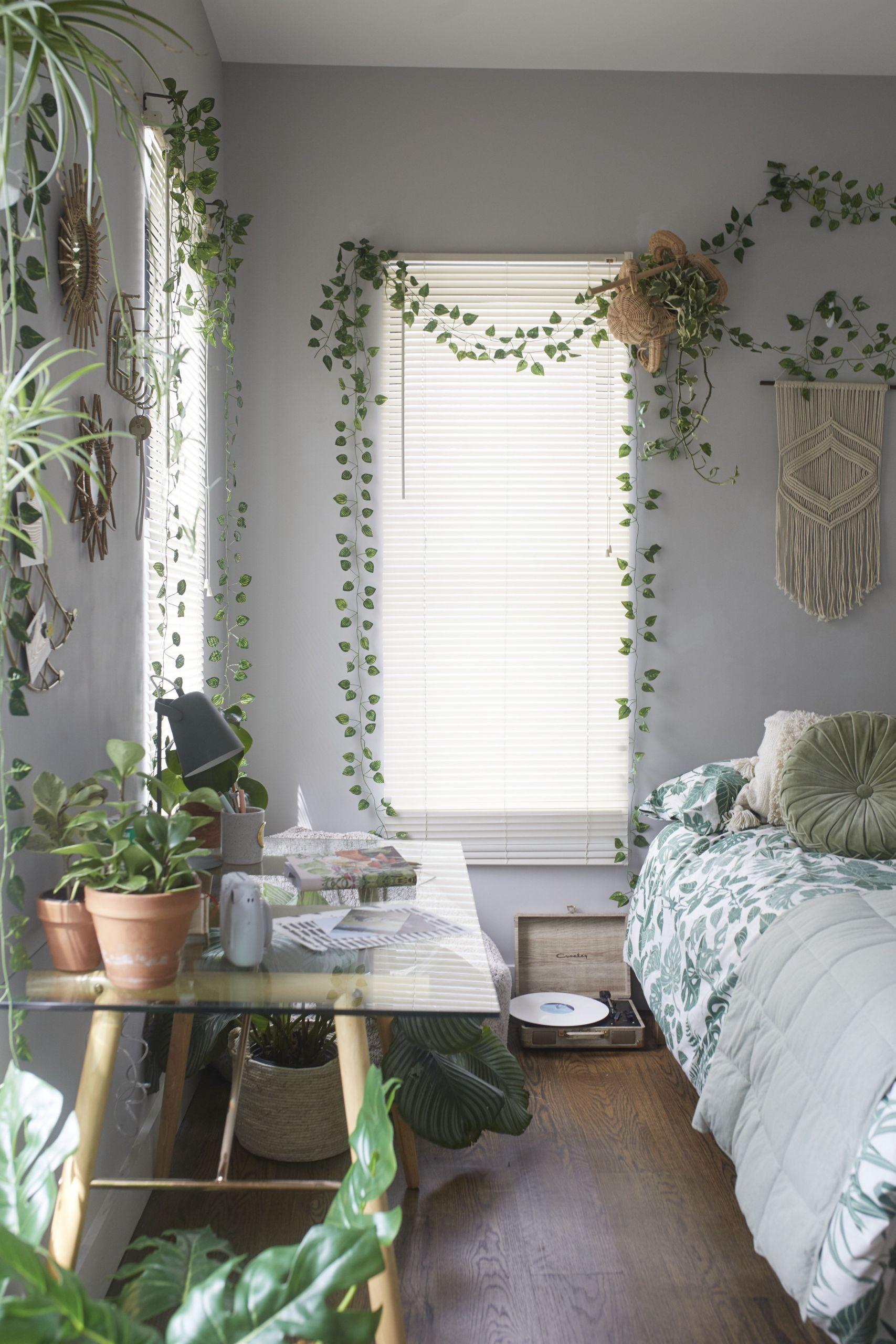 Small Bedroom Plants  Jungle Duvet Set in 2020